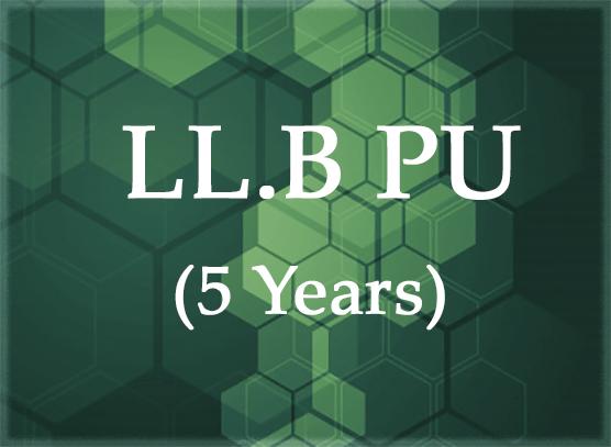 LL.B (Punjab University 5 years)